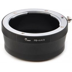 Praktica-B lens to micro-4/3 camera mount adapter
