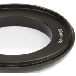 Umkehrring für 58mm Objektiv auf Fuji X