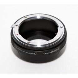 Adaptador objetivos Nikon-G para micro-4/3