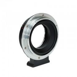 Adaptador Metabones objetivo Nikon G a  Fuji (GFX)