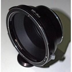 Adaptador objetivos Pentax-67 a Canon EOS