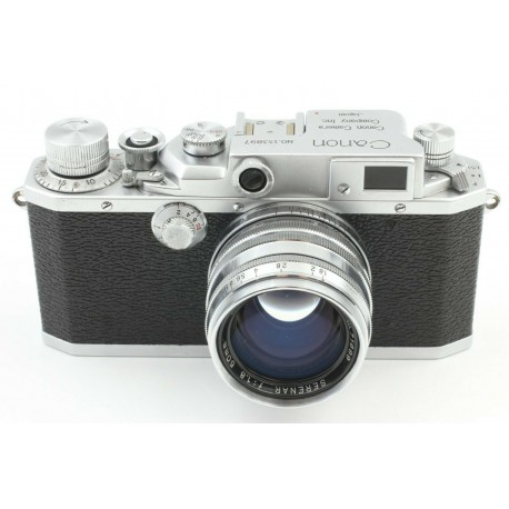 Canon IId Chrome rangefinder camera with 1,8/50mm lens