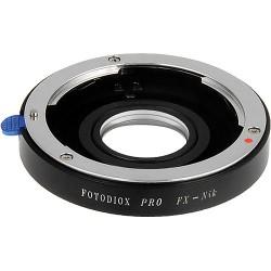 Fotodiox PRO Adapter, 35mm Fuji Fujica X-Mount Objektive auf Nikon Mount Kamera