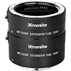 Tubos extensión AF  Commlite para Canon EOS-R