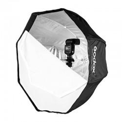 Ventana de luz difusora Godox Octa Softbox con grid. 120 cm