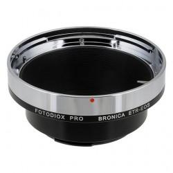 Adaptador Fotodiox Pro de objetivos Bronica ETR para Canon EOS