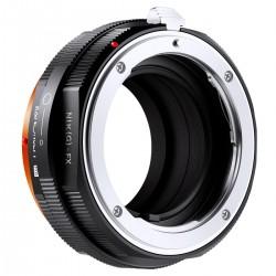 Adaptador  K&F Concept de objetivos Nikon-G para Fuji-X PRO
