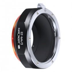 K&F Concept Adapterring Canon EOS für Olympus Micro 4/3 PRO Kamera