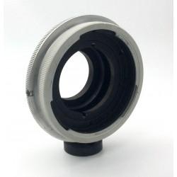 Adaptador (RA) de objetivos Kowa 66  para cámaras Nikon montura F