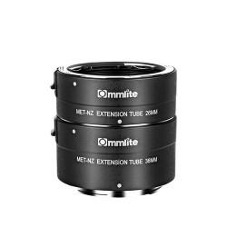 Tubos extensión AF  Commlite para Nikon Z  (CM-MET-NZ)