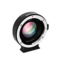 Reductor de focal Commlite de Canon-EF/EF-S  a  montura FUJI X  (CM-EF-FX Booster)