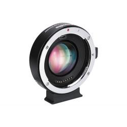 Reductor de focal Commlite de Canon-EF  a  montura Canon EOSM  (CM-EF-EOSM  Booster)