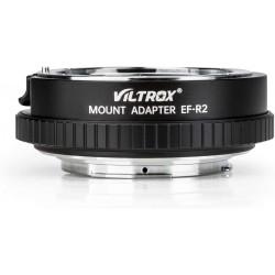 Adaptador Inteligente Viltrox Canon EF y EFs para Canon EOS-R/RP con anillo de control