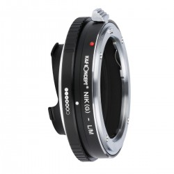 Adaptador K&F Concept de objetivos Nikon-G para leica-M