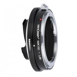 Adaptador objetivos Nikon-G para leica-M