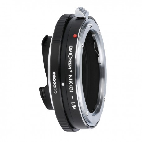 K&F Concept Adapter for Nikon-G lens to Leica-M camera