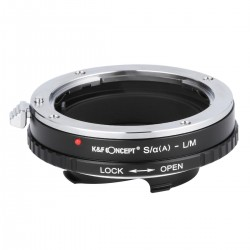 K&F Concept Adapter for Sony-A(Reflex) /Minolta-AF lens to Leica M