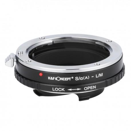 K&F Concept Adapter für Sony-A (Reflex) / Minolta-AF Objektiv auf Leica M