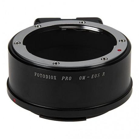 Adaptador Fotodiox Pro de objetivos Olympus-OM para Canon EOS-R (OM-EOS R)