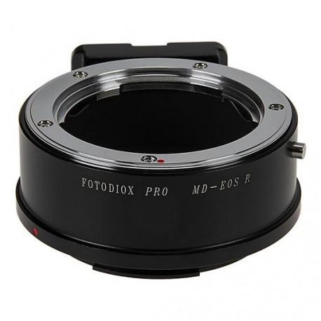 Adaptador Fotodiox Pro de objetivos Minolta-MD para Canon EOS-R (MD-EOS R)