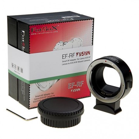 Fotodiox Pro FUSION Canon EF EFs smart adapter for Canon EOS-R/RP (EF-RF FUSION)
