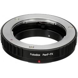 Adaptador Fotodiox de objetivos Olympus PEN-F para cámaras Fuji-X