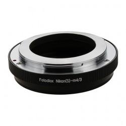 Adaptador Fotodiox de objetivos Nikon-S (Contax-RF) a micro-4/3