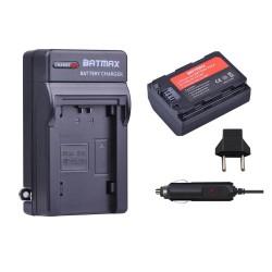 BATMAX Ladegerät + Akku Kit NP-FZ100 für Sony