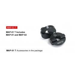 Sunwayfoto MAP-01T Boss adapter for Manfrotto ballheads