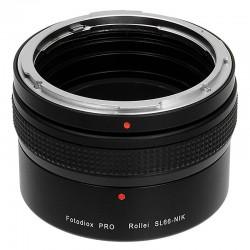 Adaptador Fotodiox Pro de Rollei SL66 para Nikon