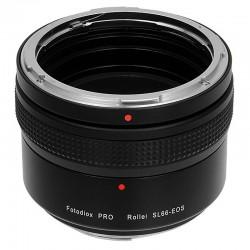 Adaptador Fotodiox Pro de Rollei SL66 para EOS