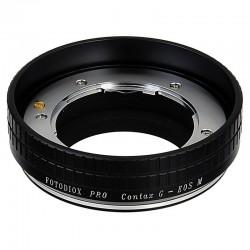 Adaptador Fotodiox de objetivos Contax-G para EOS-M