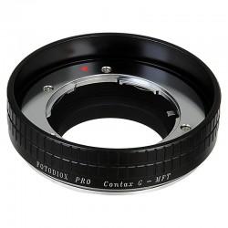 Adaptador Fotodiox de objetivos Contax-G para micro-4/3