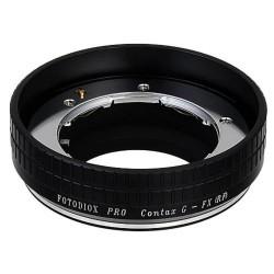 Adaptador Fotodiox de objetivos Contax-G para Fuji-X