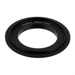 Anillo inversor Fotodiox de  52mm para micro-4/3
