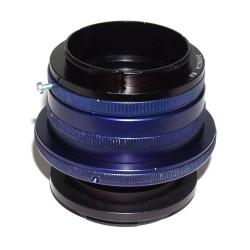 Adaptador (RA) de objetivos Zenza Bronica RF S1, S2  para cámaras Fuji montura GFX con helicoide rápido