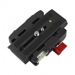 Sliding Plate Clamp for Manfrotto compatible long plates