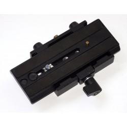 Schiebeplattenklemme für Manfrotto kompatible lange Platten