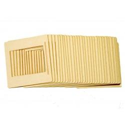 Cardboard slide frames 4,5x6cm