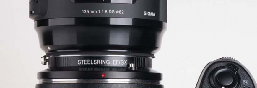 New Smart Adapters Steelsring from Canon EF to Fuji X and GFX